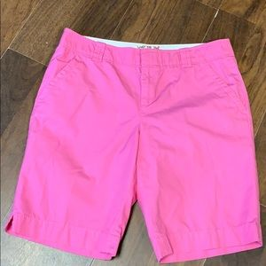 Lilly Pulitzer pink shorts size 10
